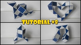 Rubik's Twist 24 Tutorial #8 - Snail - Heart 1 - Rocket - Musical Notes