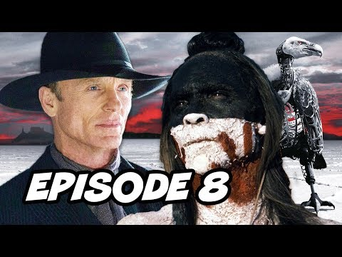 Westworld Season 2 Episode 8 - TOP 10 and Easter Eggs Explained