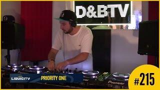 D&BTV Live #215 Liquicity takeover - Priority One