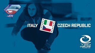 HIGHLIGHTS: Italy v Czech Republic - Women - Olympic Qualification Event 2017