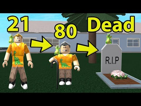GROWING OLD & DYING SIMULATOR IN ROBLOX