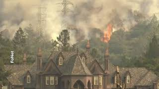 2017-10-15 - Százak menekülnek a tűz elől Kaliforniában