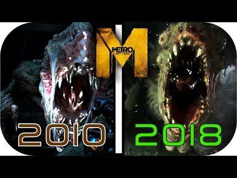EVOLUTION of METRO (2010- 2017/2018) (video game graphics)