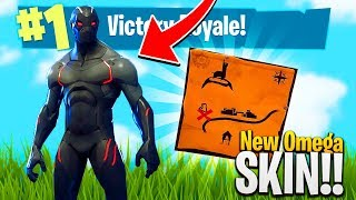 Spell FORTNITE and the TOMATO TOWN TREASURE MAP CHALLENGES!! - FORTNITE