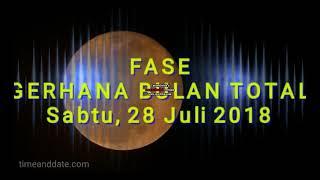 Download Video GERHANA BULAN TOTAL 29 JULI 2018 GERHANA TERLAMA DI ABAD INI MP3 3GP MP4