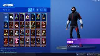 Fortnite Ikonik Dance (Scenario) With Rare Skins /Ghoul, Reacon...
