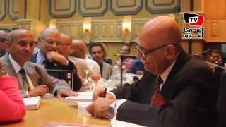 حفل توقيع كتاب «حوارات نجيب محفوظ» للكاتب محمد سلماوي