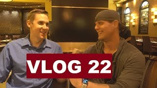 Man attacks woman in poker room, gets CHOKED OUT! | Poker Vlog 22