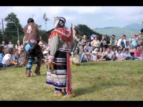 Indiani d' America Hunkapi festa della madre terra 2011 parte 1