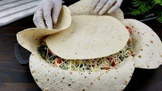 فكرة هائلة للغداء أو العشاء من ألذ و اسهل الوصفات المغذية المتكاملة   Lunch or dinner recipe idea