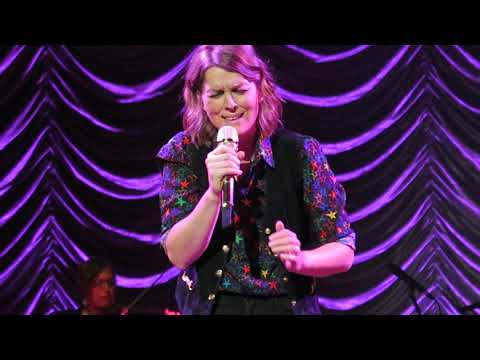 "Brandi Carlile Covers Joni Mitchell ""A Case Of You"" Live Song The Mann Philadelphia"