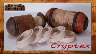 In this video I demonstrate how to make your own Cryptex. What is a Cryptex? A Cryptex is a puzzle box. All the rings rotate