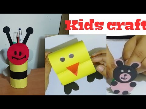 Easy kids craft ideas /DIY paper craft for summer