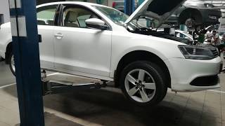 Volkswagen Polo Diesel Full service, oil and filter change.