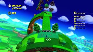 Sonic Lost World - Wii U - Windy Hill Zone 1