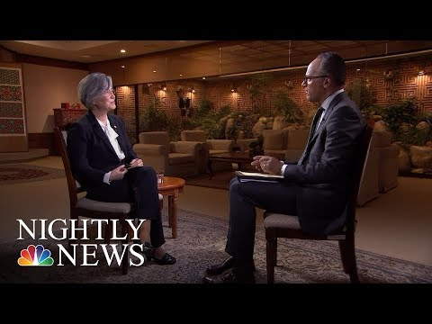 South Korean Foreign Minister Kang Kyung-Wha On North Korea Nuclear Weapon Program (Full) | NBC News