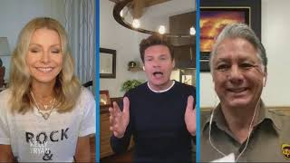 Kelly and ryan speak with ups driver steve lopez who continues to deliver packages during the pandemic.subscribe: https://bit.ly/2hfueakwebsite: https://kell...