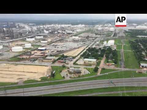 Aerials Show Devastation Left By Houston Floods