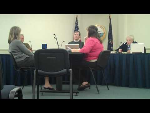 Selectmen's administration meeting: town budget