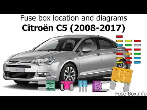 citroen c5 fuse box faults wiring diagram Old Fuse Box
