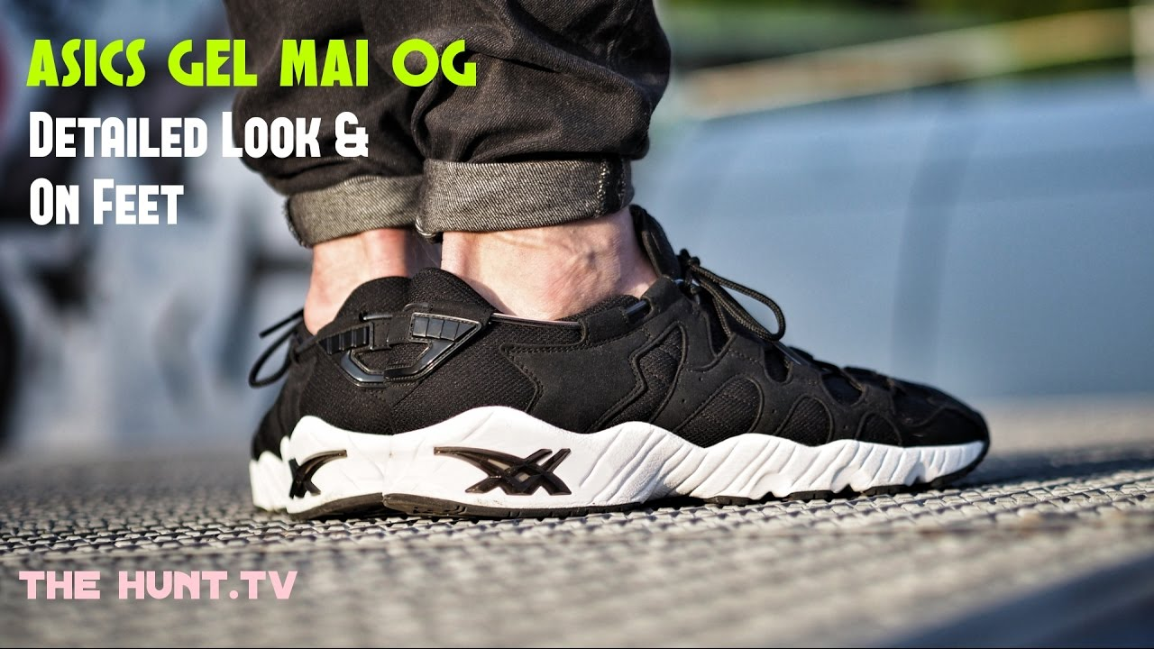 eb70ca333a61 Asics Gel Mai OG Detailed Look   On Feet   More Ugly Shoes - YouTube