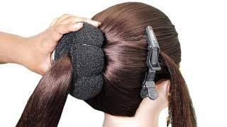 Quick Andamp Easy Hairstyle For Wedding  Beautiful Heatless Hairstyle For Girls  Hair Style Girl
