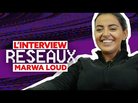 Marwa Loud Interview Réseaux : Jul tu follow, Ronaldo ça match, Lacrim tu stream ?