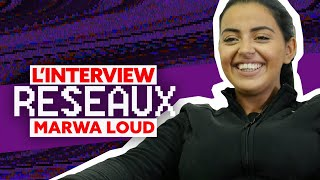 Marwa Loud Interview Réseaux : Jul tu follow, Ronaldo ça match, Lacrim tu stream ?