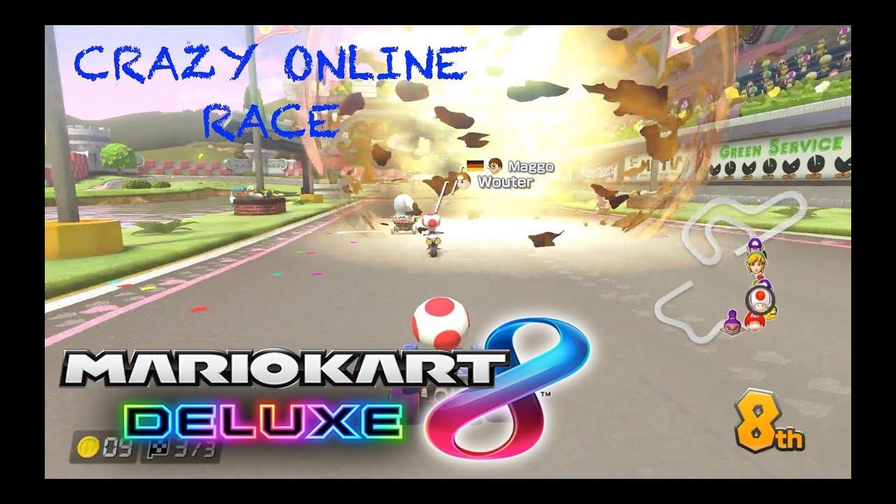 Crazy Online Race Mario Kart 8 Deluxe Nintendo Switch Gameplay