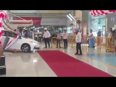 Toyota Indus Motor Company 750.000th Vehicles Line Off Celebratian
