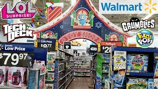 WALMART CHRISTMAS TOYS SHOPPING WALK THROUGH 2018