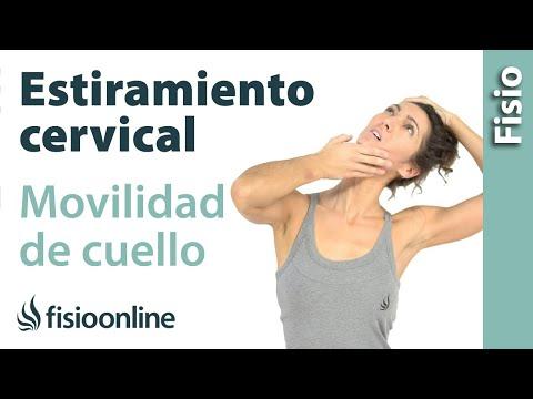 Estiramiento cervical para la movilidad de cuello, trapecios y hombros