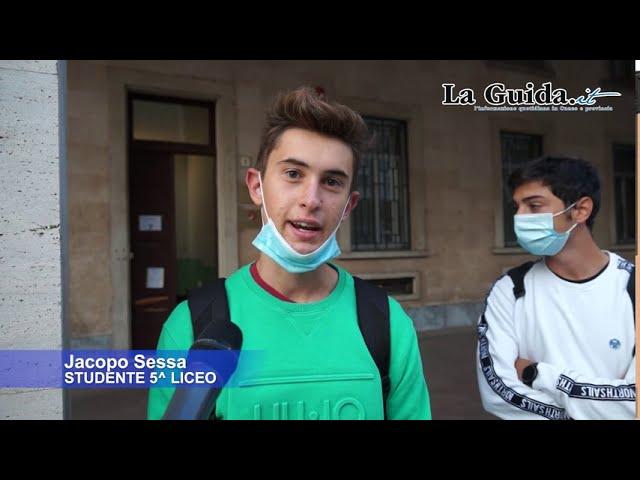 Cuneo: primo giorno di scuola dopo 6 mesi di stop per il coronavirus