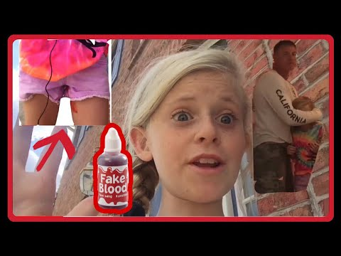 Layna pulls A Period Prank on Dad! thumbnail