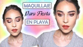 Maquillaje perfecto para fiesta en Playa 💚 💛