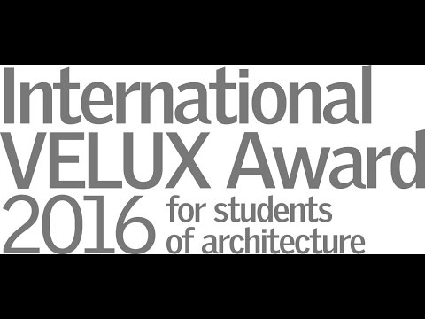 Webinar International VELUX Award 2016