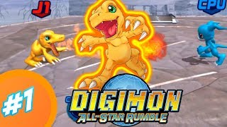 Digimon Rumble Arena 3 | All star rumble | PC en español | Agumon #1