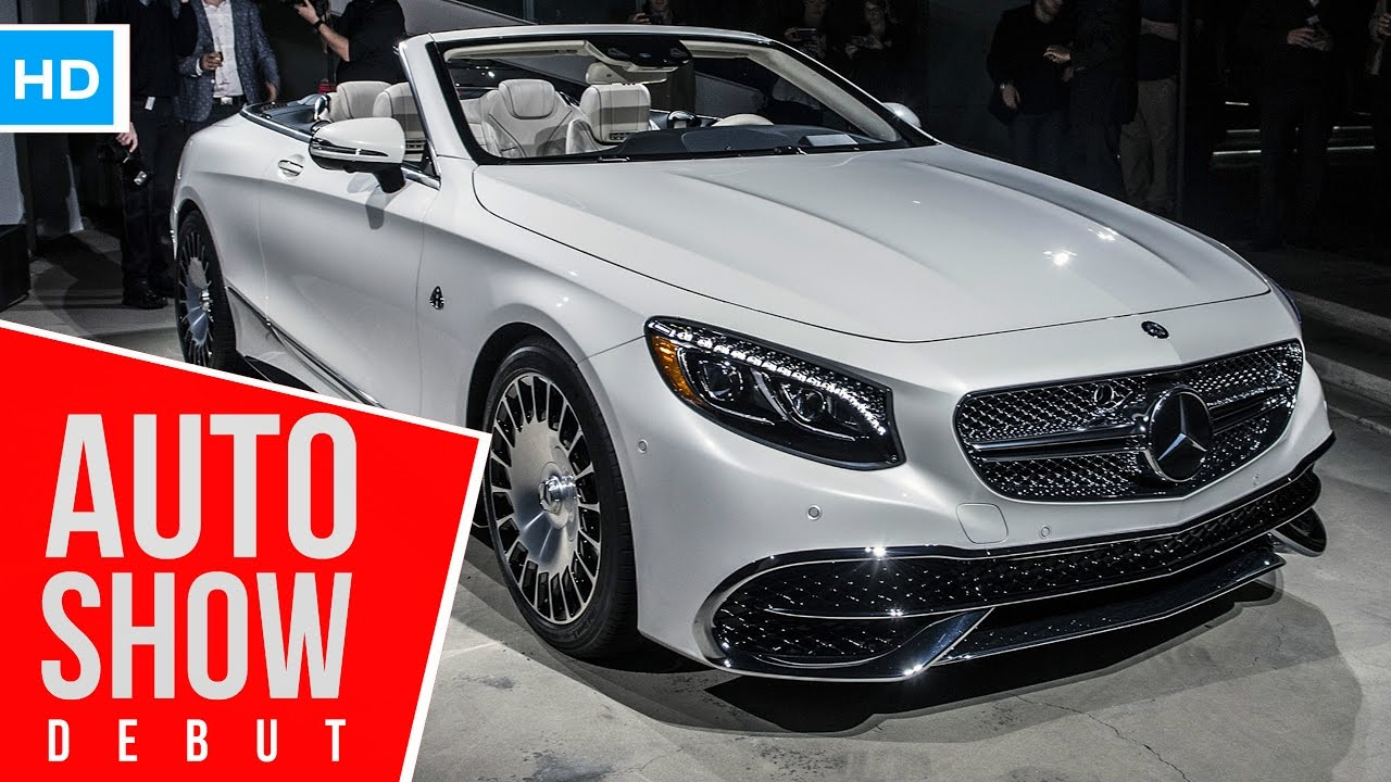 Rare 2017 Mercedes Maybach S650 Cabriolet Debuts In L A 1 Of 300 You