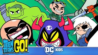Teen Titans Go! | The Best Villains | DC Kids