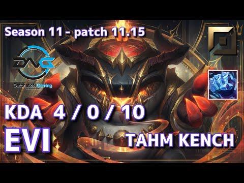 Download 【韓国サーバー/GM】DFM Evi タムケンチ(Tahm Kench) VS イレリア(Irelia) TOP - Patch11.15 KR Ranked【LoL】