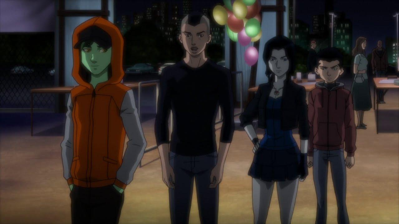 Watch Teen Titans Haunted