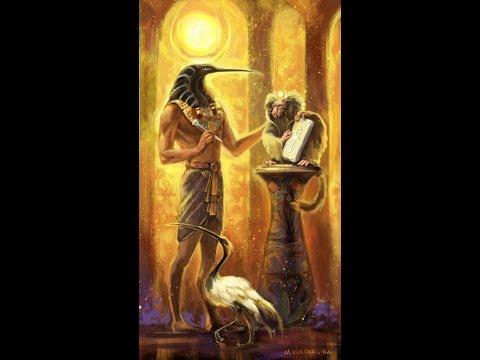 Тот - бог мудрости и магических знаний. Куратор земли в апреле. часть 3