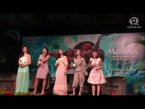 Janella Salvador sings 'Moana' song with SEA stars