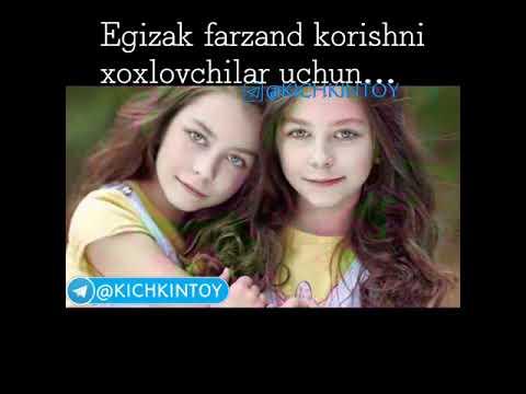 Egizak Farzand Korishni Xoxluvchilar Uchun
