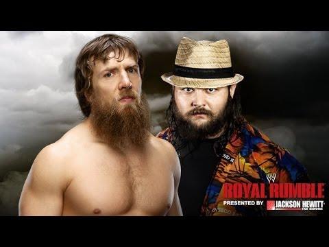 Royal Rumble 2014 : Daniel Bryan Bray Wyaat Full Match