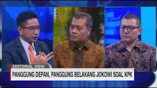 Panggung Depan, Panggung Belakang Jokowi Soal KPK #LayarDemokrasi