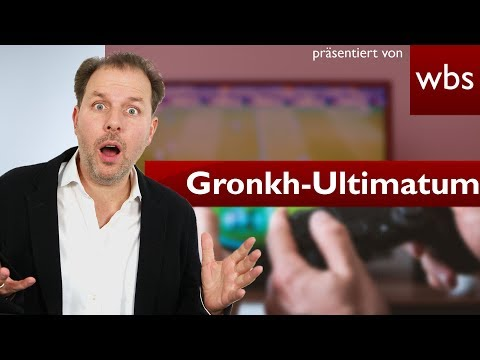 Gronkh: Die Medienanstalt NRW stellt Ultimatum   Rechtsanwalt Christian Solmecke