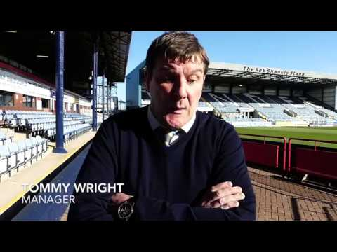 Tommy Wright speaking to Saints TV following the game at Dundee on 21st April 2018