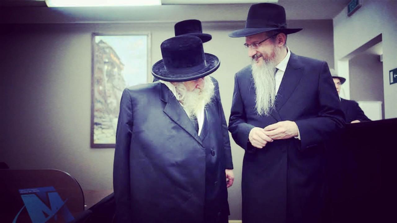 הרבי מטשערנאביל ביקר בספריית שניאורסון במוסקבה וערך טיש
