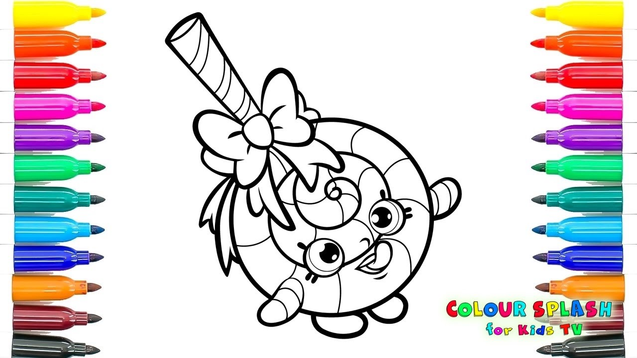 SHOPKINS Coloring Pages LOLLI